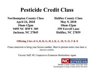 Cover photo for Pesticide Credit Class