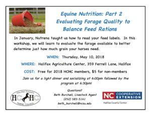 Cover photo for Horse Owners Workshop