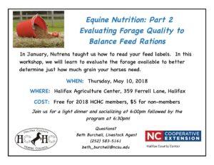 Equine Nutrition flyer image