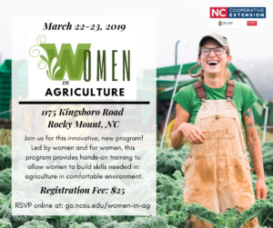 Cover photo for Women in Agriculture