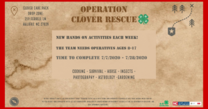 Cover photo for Operation Clover Rescue