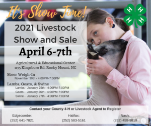Cover photo for 2021 Eastern Carolina 4-H Livestock Show & Sale