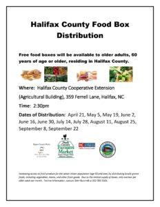Food Box Distribution flyer image